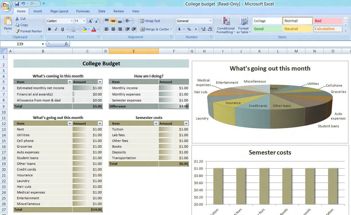 Training Budget Template Xls • Business Template Ideas Pertaining To Flexible Budget Performance Report Template