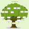 Tree Charts – Tunu.redmini.co Throughout Blank Tree Diagram Template