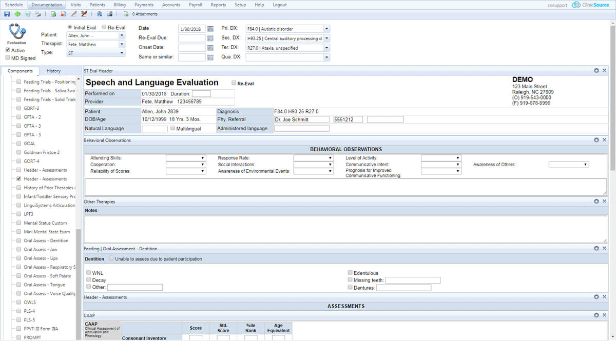 Using Therapy Emr Templates To Write Assessment Reports Within Reliability Report Template