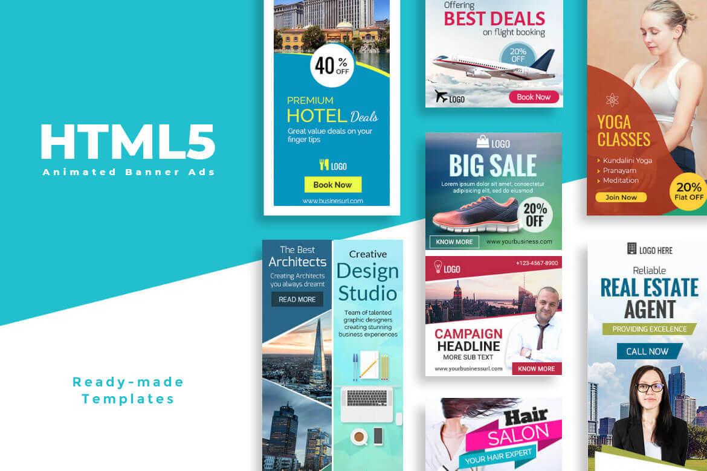 Website Banner Design Services | Animated Banner Ads For Website For Animated Banner Templates