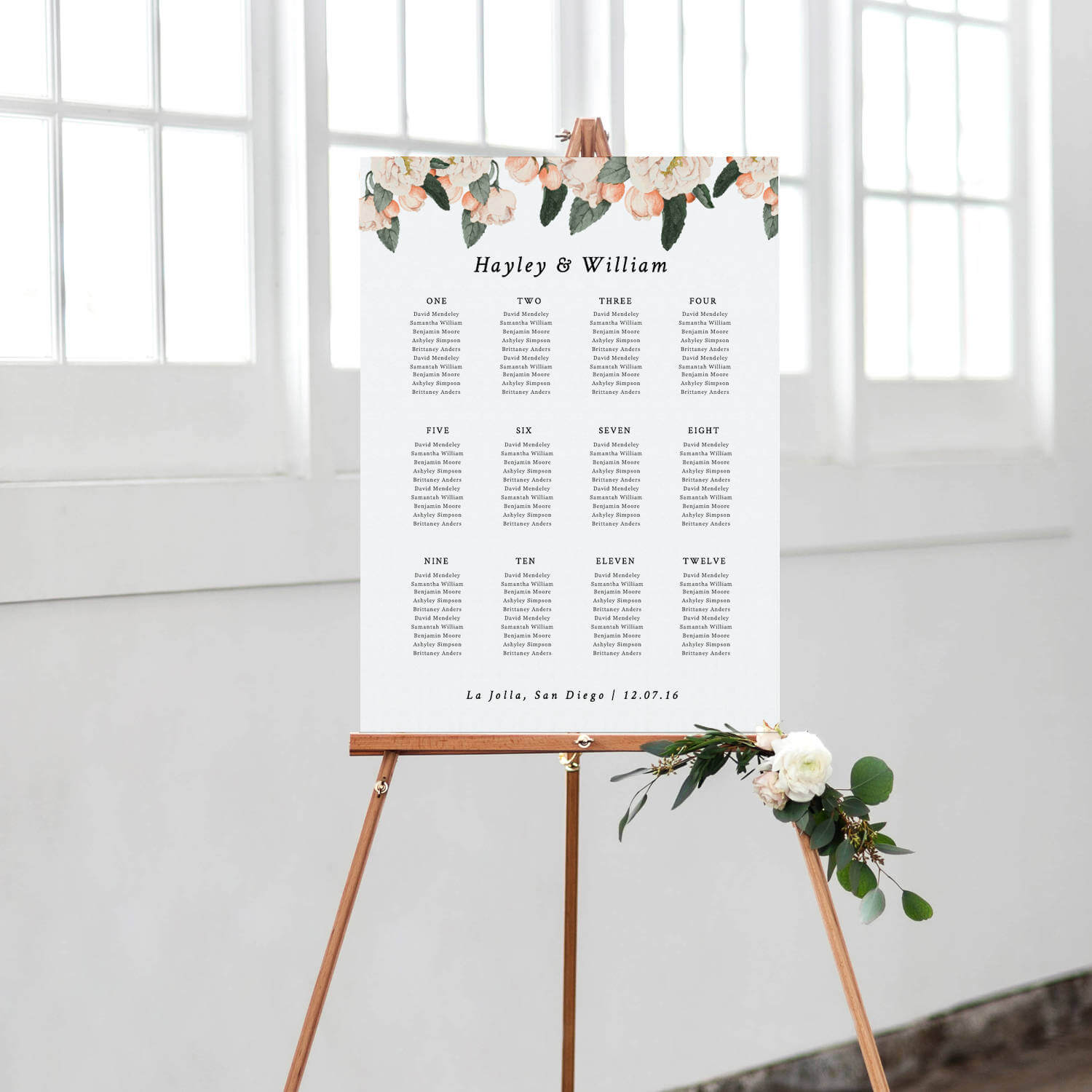 Wedding Seating Chart Template, Seating Plan, Vintage Floral Seating Chart  Poster | Edit In Word Or Pages Regarding Wedding Seating Chart Template Word