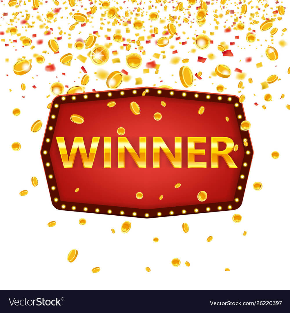 Winner Frame Label Banner Template Win Throughout Congratulations Banner Template