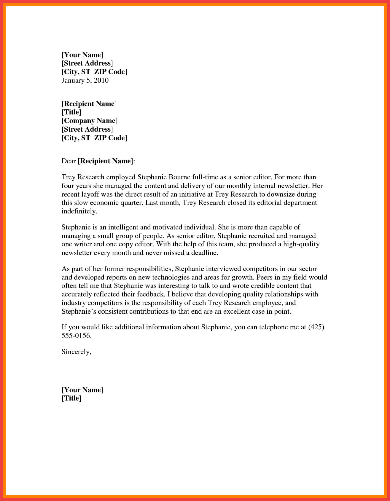 Word Formal Letter Template   Memo Example With Regard To Microsoft Word Business Letter Template