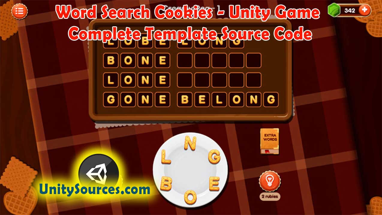 Word Search Cookies – Unity Game Complete Template Source Within Word Sleuth Template