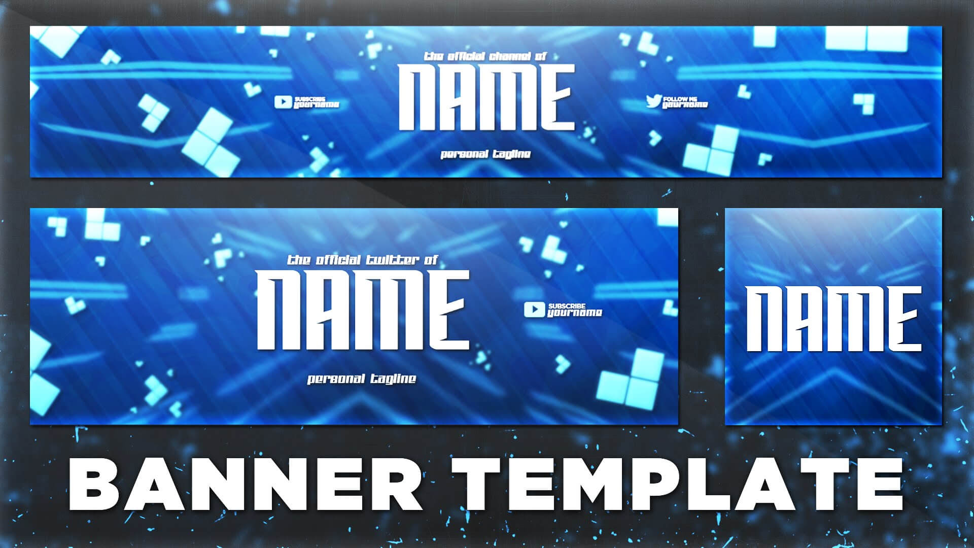 Youtube Template Psd – C Punkt In Banner Template For Photoshop