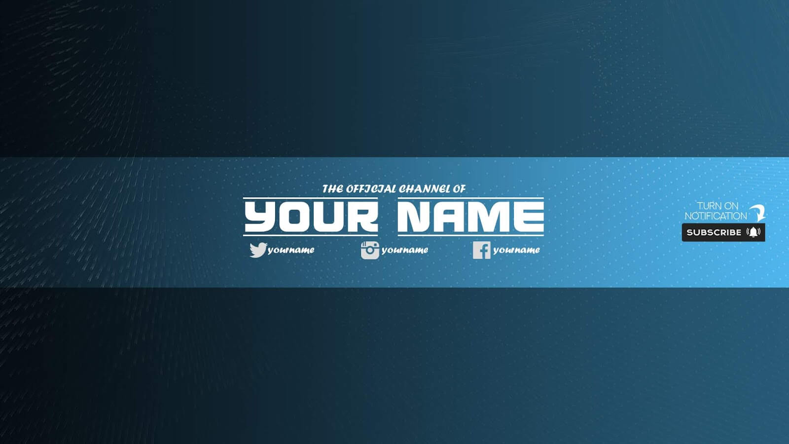 Zuhair Baloch: Free Youtube Banner Template #33 Download Now Within Banner Template For Photoshop